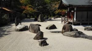 Kóya-san - Zahrada dvou draků
