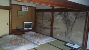 Pokoj v klášteře na hoře Kója