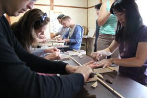 Nara - výroba štětců 2