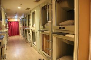 Osaka - kapsel hotel 2